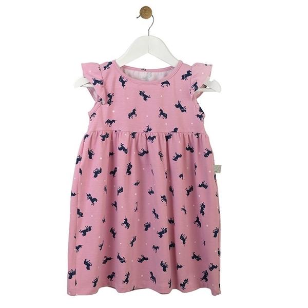 Καρφιτσωμένος Γάτος - Παιδικό Φόρεμα με Μοτίβο Μονόκερους