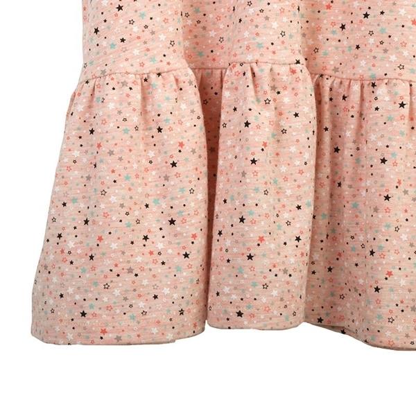 Καρφιτσωμένος Γάτος - Παιδικό Φόρεμα με Μοτίβο Αστέρια