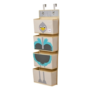3 sprouts Κρεμαστές Θήκες - Ostrich