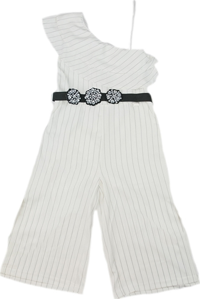 Εβίτα Fashion Ολόσωμη Φόρμα Με Ζώνη