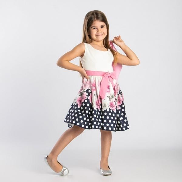 TRAX Φλοράλ Φόρεμα Με Ζακέτα
