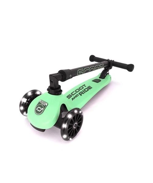 Scoot & Ride Παιδικό Πατίνι HighWayKick 3, Led Kiwi