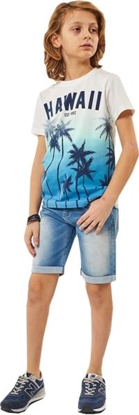 Hashtag Σετ Παντελόνι Τζίν Με Μπλούζα Φοίνικες