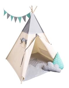 CozyDots Παιδική σκηνή Tepee Tent Grey Boy
