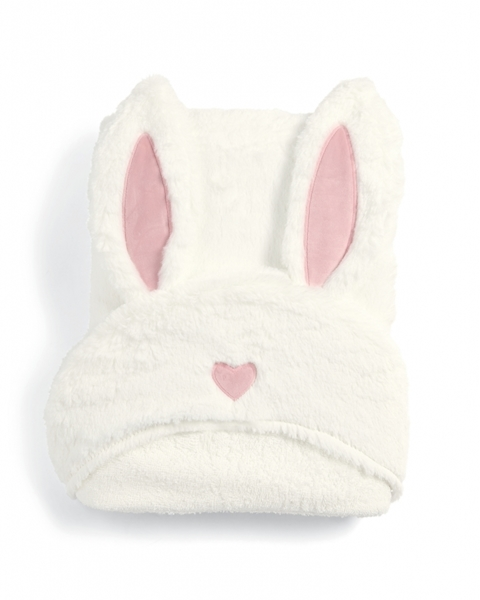 Mamas & Papas - Μπουρνουζοπετσέτα Millie & Boris Rabbit