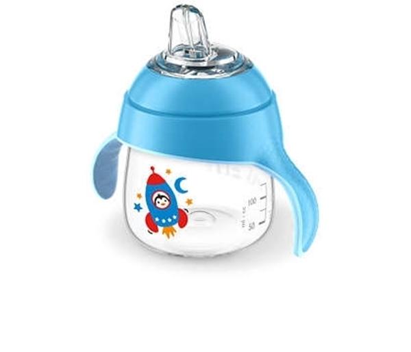 Philips Avent Κύπελλο 200ml με λαβές Mπλε