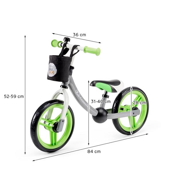 Picture of KinderKraft Ποδήλατο Ισορροπίας 2 Way Next, Green