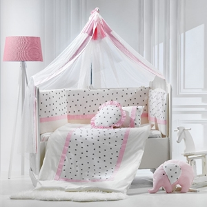 Abo Σετ Προίκας 9τμχ - Elephant Pink