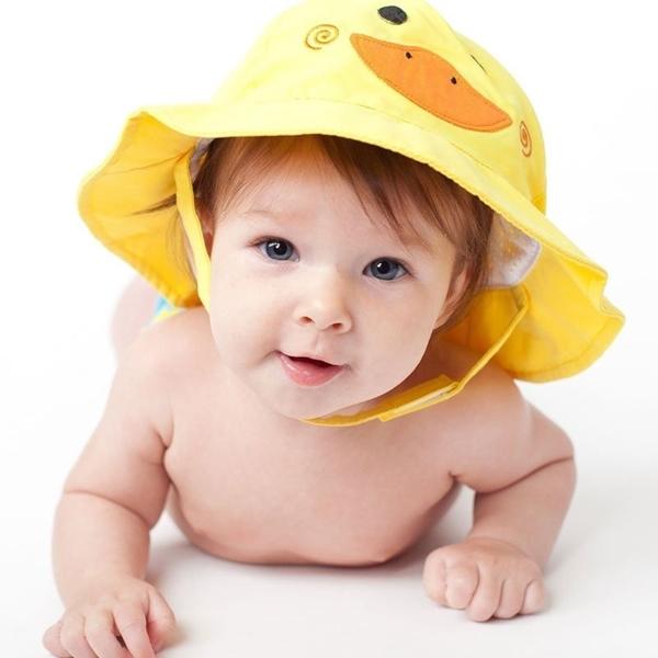 Zoocchini Αντηλιακό Καπέλο UPF50+ Παπάκι