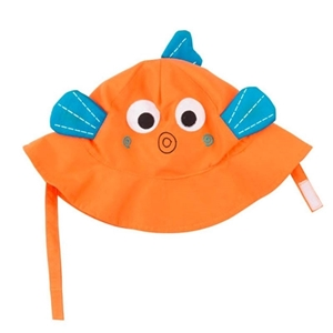 Zoocchini Αντηλιακό Καπέλο UPF50+ Ψαράκι