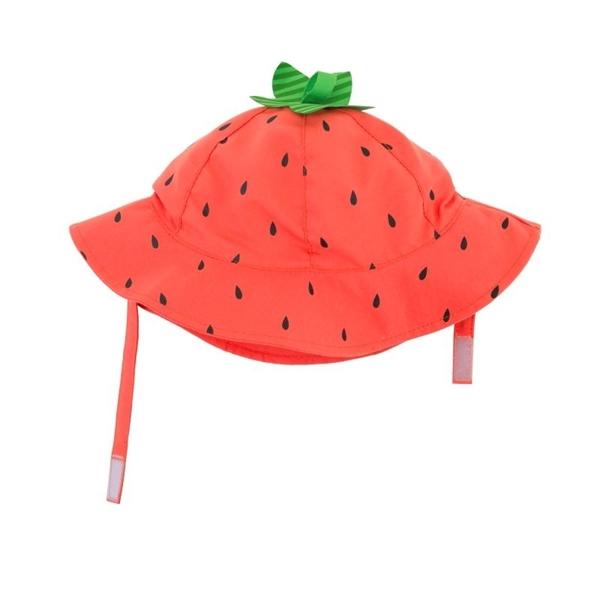 Zoocchini Αντηλιακό Καπέλο UPF50+ Φραουλίτσα