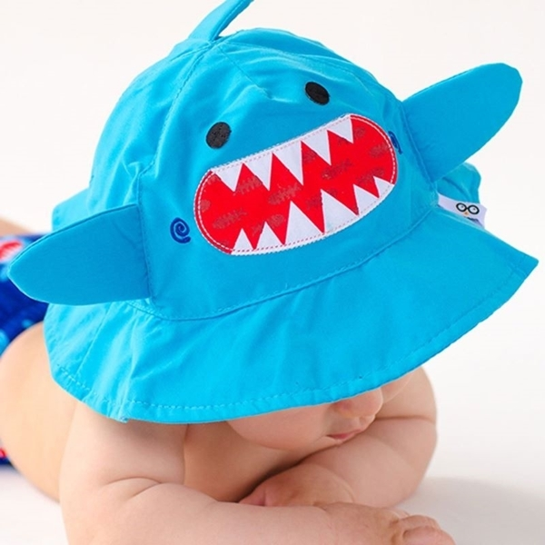 Zoocchini Αντηλιακό Καπέλο UPF50+ Καρχαρίας