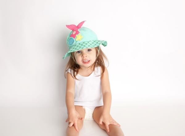 Zoocchini Αντηλιακό Καπέλο UPF50+ Γοργόνα
