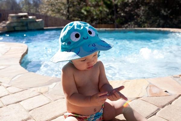 Zoocchini Αντηλιακό Καπέλο UPF50+ Χταπόδι