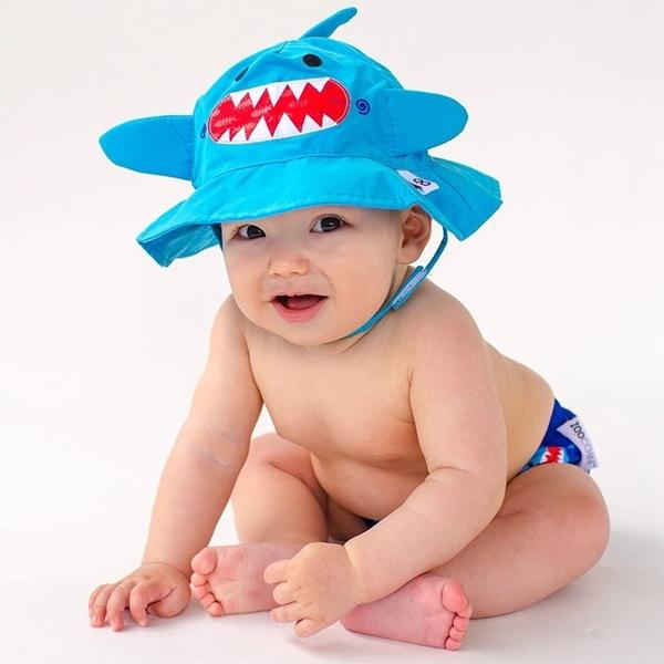 Zoocchini Σετ Μαγιό και Καπέλο UPF50+ Καρχαρίας