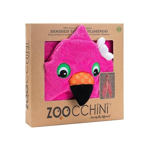 Zoocchini Παιδική Πετσέτα Franny the Flamingo
