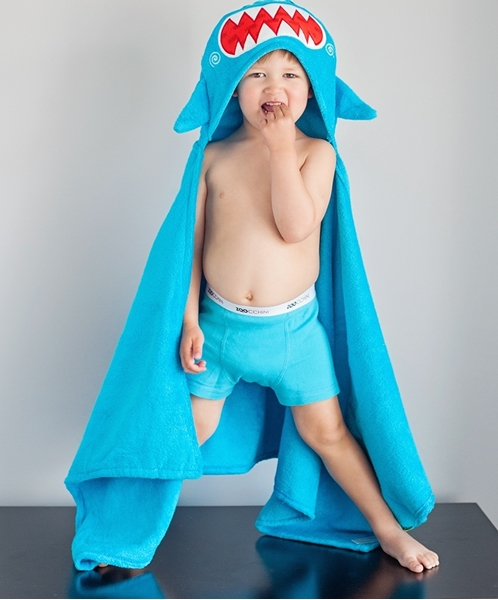 Zoocchini Παιδική Πετσέτα Sherman the Shark