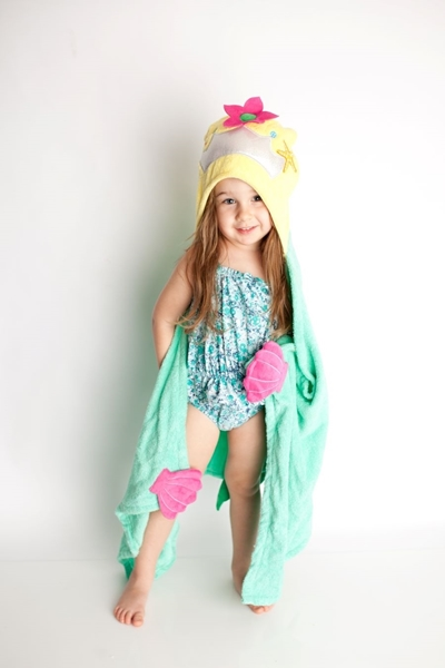Zoocchini Παιδική Πετσέτα Marietta the Mermaid