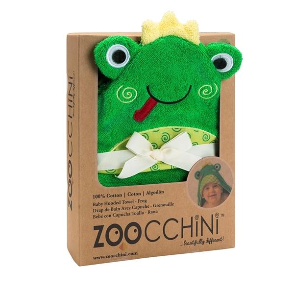 Zoocchini Βρεφική Πετσέτα Frog