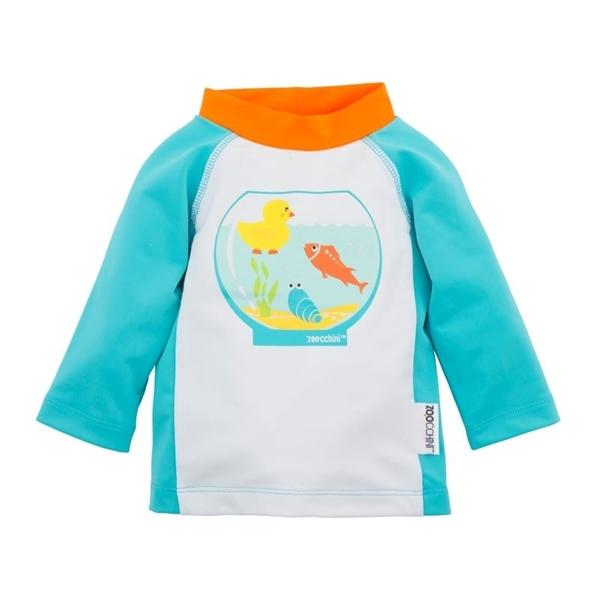 Zoocchini Αντιηλιακό Μπλουζάκι UPF50+ Fishbowl Buddies