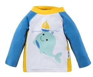 Zoocchini Αντιηλιακό Μπλουζάκι UPF50+ Whale