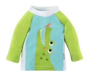 Zoocchini Αντιηλιακό Μπλουζάκι UPF50+Alligator