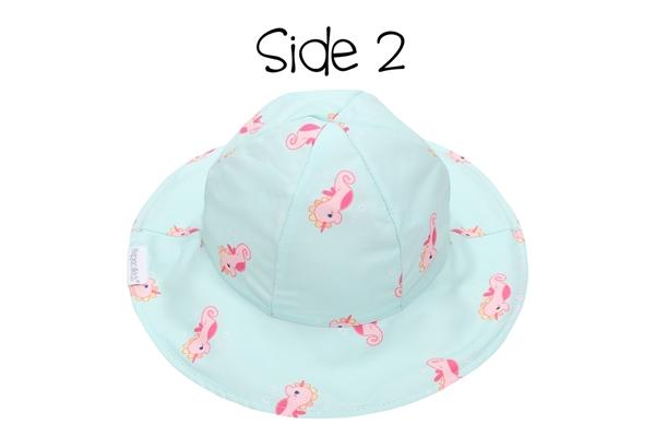 FlapJackKids Αντηλιακό Καπέλο Διπλής Όψης UPF 50+ – Mermaid