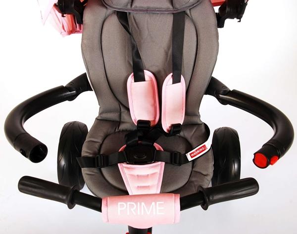 Q-Play Τρίκυκλο Ποδηλατάκι Prime 6 in 1, Pink
