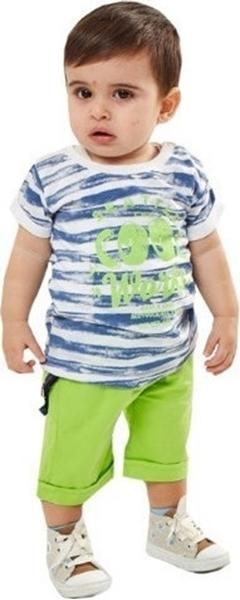 Hashtag Bebe Σετ Βερμούδα Για Αγόρι, Λαχανί