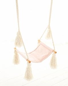 Cozydots Κούνια Boho Pink Tassels