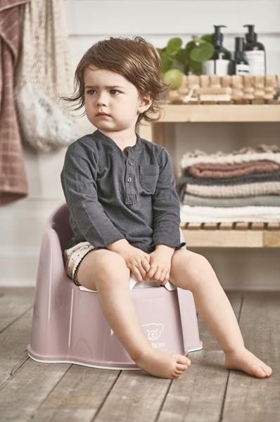 BabyBjorn Γιογιό Εκμάθησης - Powder Pink/White
