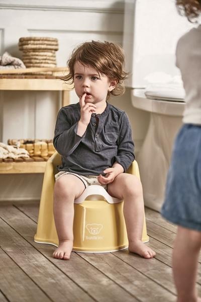 BabyBjorn Γιογιό Εκμάθησης - Powder Yellow/White