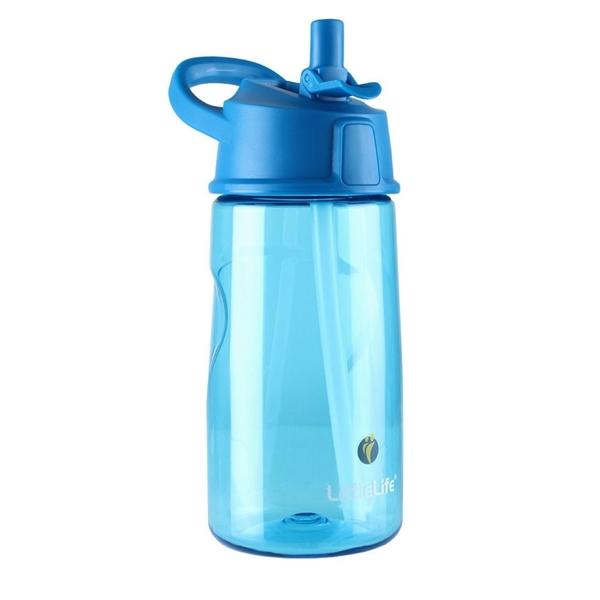 LittleLife Παγούρι 550ml με καλαμάκι Μπλε