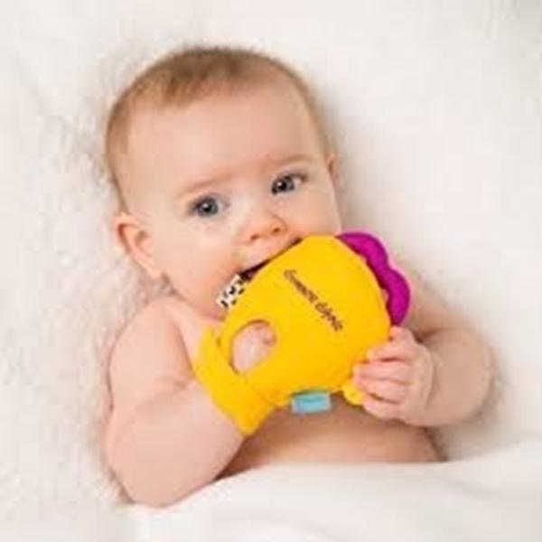 Gummee Glove Γάντι οδοντοφυίας 3-6M Κίτρινο
