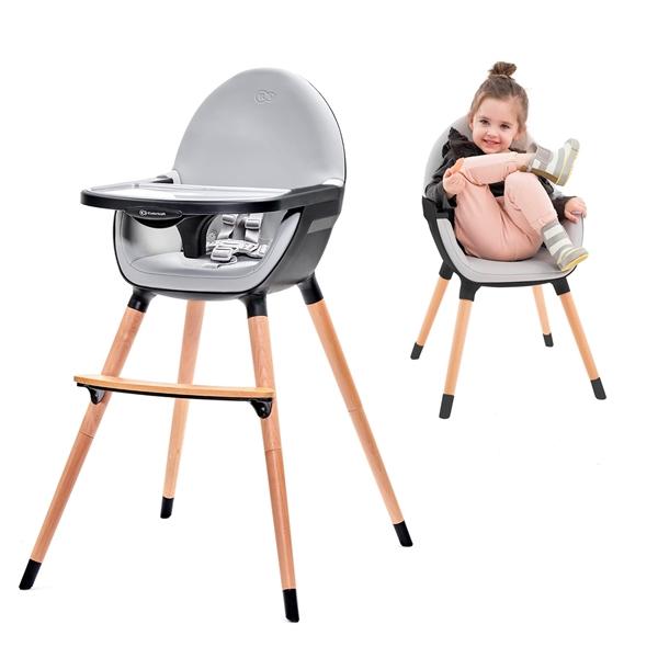 Kinderkraft Καρέκλα Φαγητού Fini, Black
