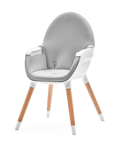 Kinderkraft Καρέκλα Φαγητού 2in1 Fini, Grey