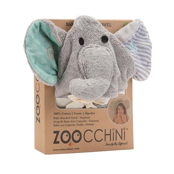 Zoocchini Βρεφική Πετσέτα Elephant
