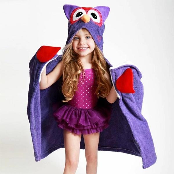 Zoocchini Παιδική Πετσέτα Olive the Owl