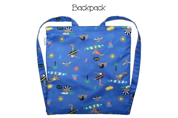 FlapJackKids Πετσέτα Παραλίας Backpack – Dino