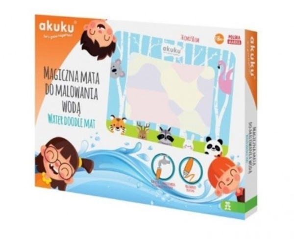 Akuku - Χαλάκι Ζωγραφικής με Νερό