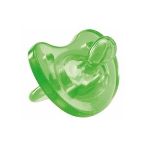 Chicco Πιπίλα Physio Soft, Όλο σιλικόνη Πράσινη, 16-36m+ 1τμχ