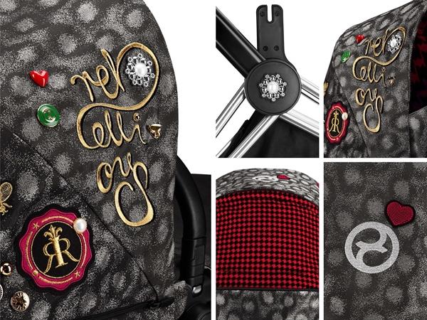 Cybex Κάθισμα Αυτοκινήτου Cloud Z i-Size, Rebelious Fashion Collection
