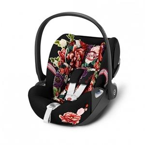 Cybex Κάθισμα Αυτοκινήτου Cloud Z i-Size Fashion Collection Spring Blossom Dark
