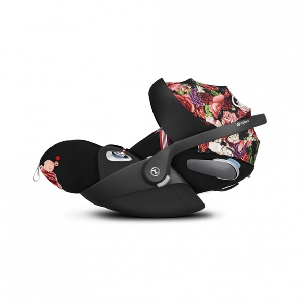 Cybex Κάθισμα Αυτοκινήτου Cloud Z i-Size Fashion Collection Spring Blossom Dark