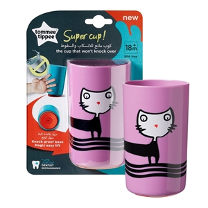Tommee Tippee - No Knock  Super Cup, 300ml Μωβ