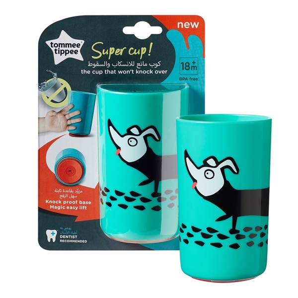 Tommee Tippee - No Knock  Super Cup, 300ml Μέντα