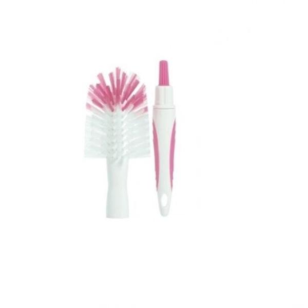 Tommee Tippee - Closer to Nature Βούρτσα καθαρισμού μπιμπερό & θηλών, Ροζ