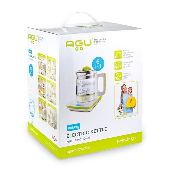 Agu Ηλεκτρικός Βραστήρας Πολλαπλών Χρήσεων 6 σε 1