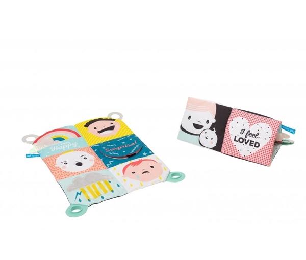 Taf Toys Πολύχρωμο  Βιβλίο Δραστηριοτήτων ''My feelings Crinkle'