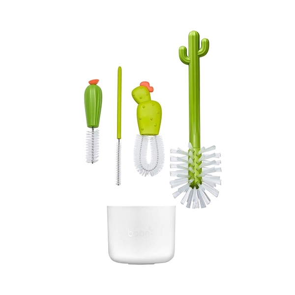 Boon Σετ Βούρτσας Καθαρισμού Μπουκαλιών - Cacti